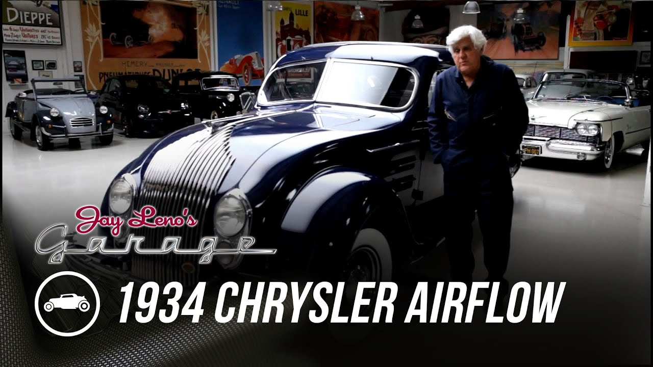 Early Car Aerodynamics: 1934 Chrysler Airflow - Jay Leno's Garage