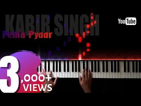 pehla-pyaar-||-kabir-singh-||-soft-piano-cover-||-shahid-kapoor-||-kaira-advani-||