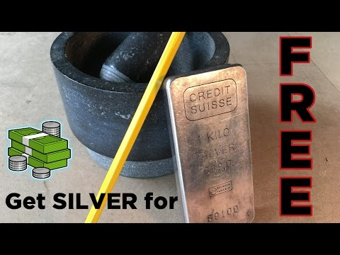 Ben Builds: Extract SILVER from PENCIL LEAD!
