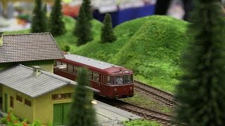 More HO Scale Model Trains/Locomotives in Action** Model railroad 2107 from Hobby Fair in Norway