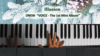 181208_ ONEW『 Illusion (VOICE - The 1st Mini Album) 』Piano by ear