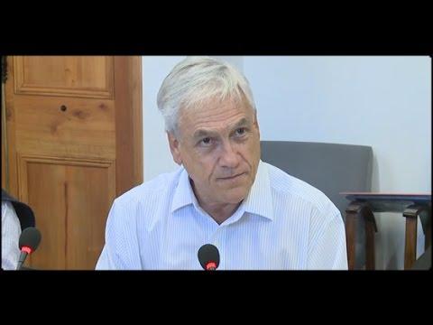 Sebastián Piñera criticó el actuar del Gobierno frente a los incendios forestales