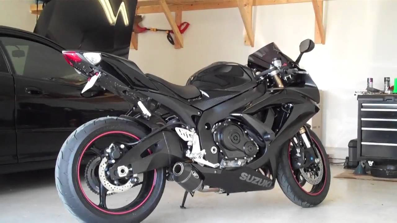 Suzuki Gsxr 600 >> Suzuki GSXR-600 K8, M4 Shorty Exhaust (slip-on), BAFFLE REMOVED , HD quality - YouTube