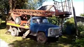 АП-17 на шасі ГАЗ 53-12 в роботі
