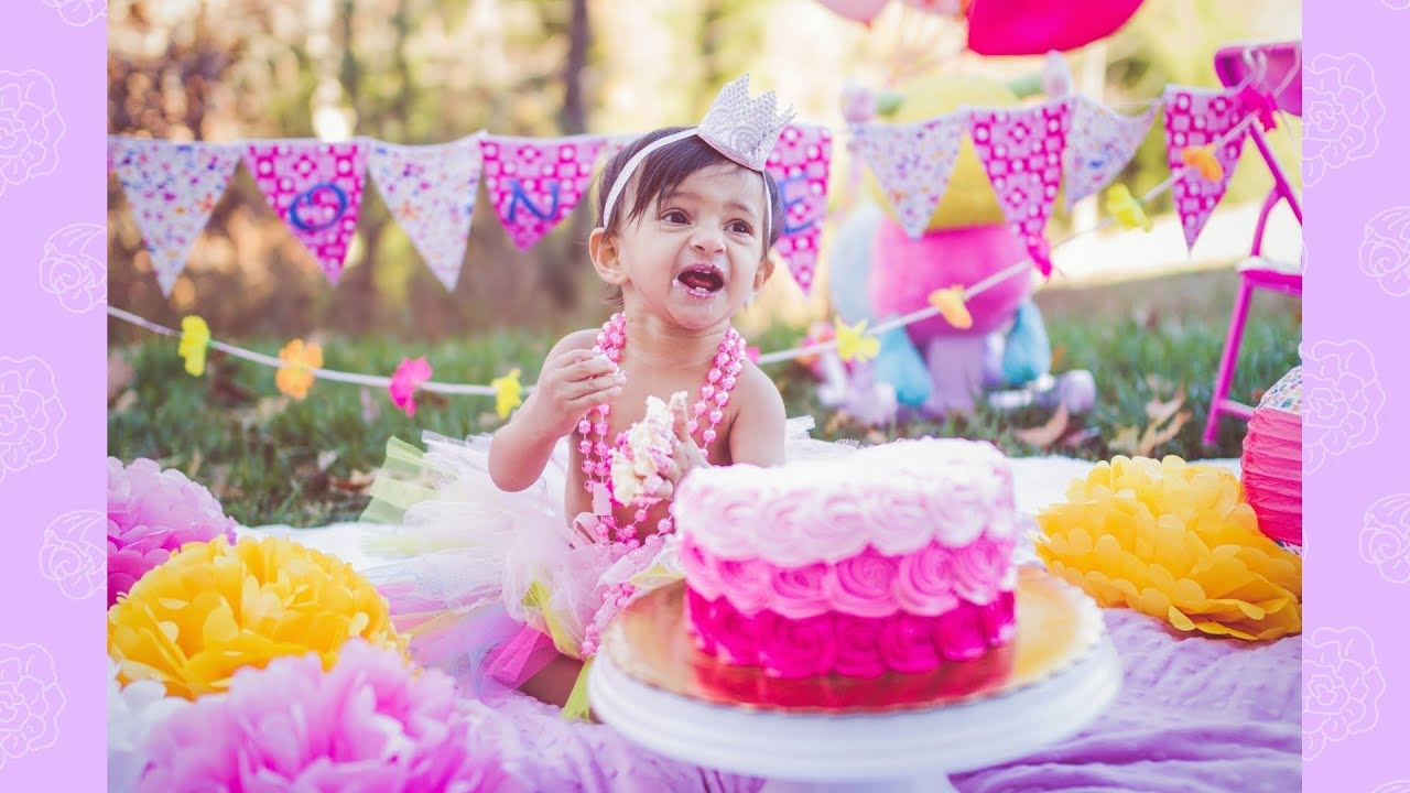 Diy First Birthday Cake Smash Decoration Ideas At Home