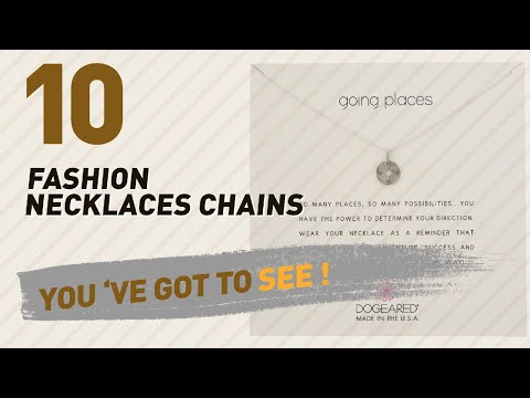 Fashion Necklaces Chains Collection // Most Popular 2017