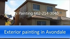 Exterior house painting in Avondale AZ.