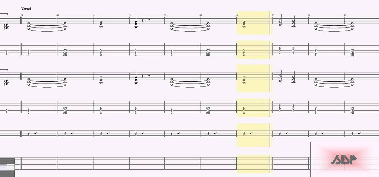 Metallica Tabs - For Whom The Bell Tolls - YouTube - metallicaguitar tabs