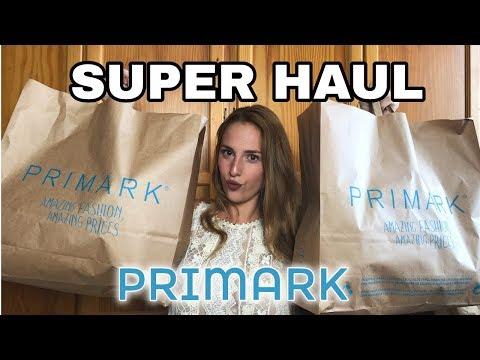 ¡SUPER HAUL PRIMARK OTOÑO 2018! Ropa, maquillaje y mucho más...💸   Irene Cala