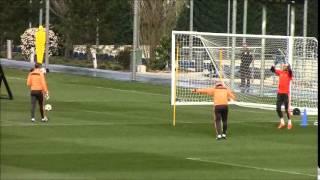 Entrenamiento porteros Real Madrid |Diario Bernabéu
