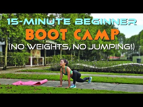 15-Minute Beginner Boot Camp (No Weights, No Jumping!)