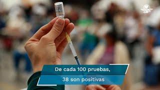 Enrique Clausen, secretario Estatal de Salud, pidió a los sonorenses que no se rindan porque ninguna vacuna otorga inmunidad total, el nivel de protección es enorme, pero no del 100%
