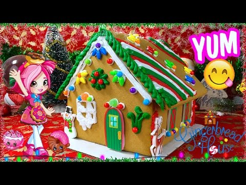 Make Your Own Gingerbread House Youtube