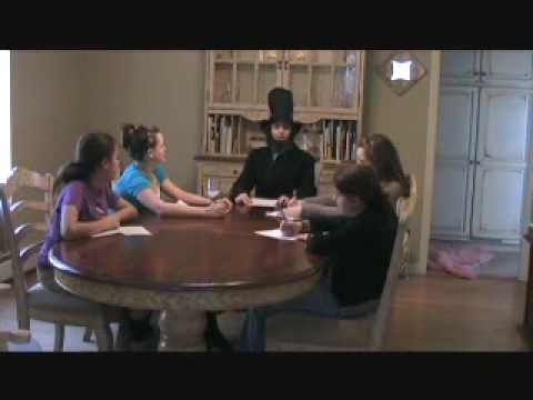 interview with abraham lincoln What is your favorite foodwho was your favorite childif you weren't president what would you be doingquestions about his life should be good for your interview with abe or honest abe.