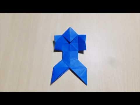 Как сделать ниндзя. Оригами. Искусство складной бумаги.