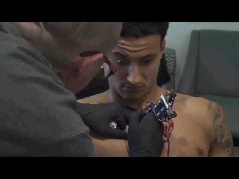 The hitlist tattoo session with los angeles lakers youtube for La lakers tattoo