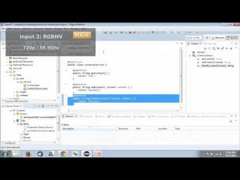 Java Development in the Cloud