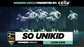 So Unikid I 2nd Place Team Division I Winners Circle I World of Dance Lyon 2018  I  #WODFR18