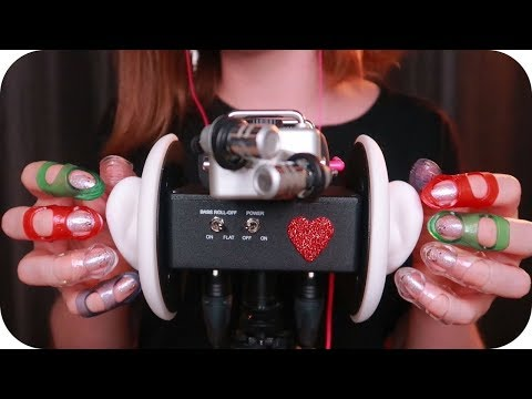 ASMR Ear Tapping with GEL GRIPS ~Fast, Slow, Varied~