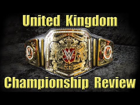 WWE Merch Purch 42: The United Kingdom Championship Unboxing