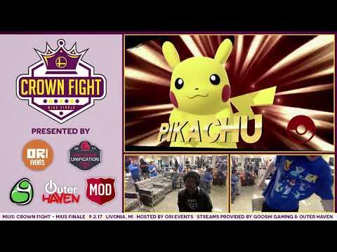 Crown Fight: Nero (Pikachu) vs Rayquaza (RosaLuma)
