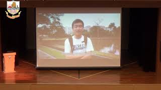 munsang的20190510 Assembly Co-curricular Activity Committee Sharing by Students Junior Form相片
