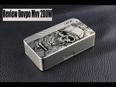 Review MVV 280W | Dovpo Mvv 280 | Best Vape For Big Cloud