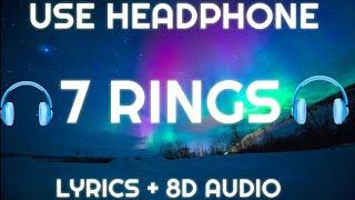 Ariana Grande - 7 rings ( Lyrics / Spanish / Letra  / 8D AUDIO ) | Lyrics + Spanish + 8D audio