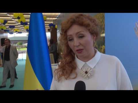 Ukrayna, Odessa Plajı'nı @Expo2016 Antalya'ya taşıdı