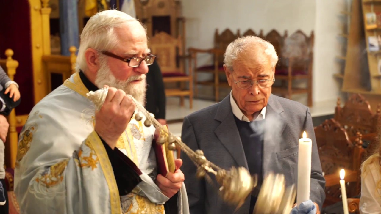 Christopher Griechisch Orthodoxe Taufe In Stuttgart