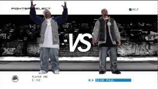 Def Jam Icon with Word E-40 vs Method man