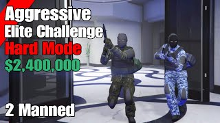 Gta Online Diamond Casino Heist Elite Challenge (Aggressive Approach) $2,400,000