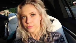 DAY IN THE LIFE |  HOT GIRL WINS TESLA MODEL X