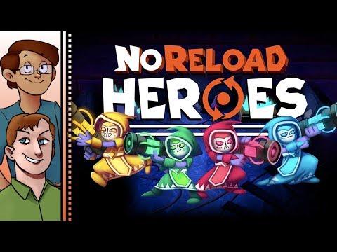 Let's Try NoReload Heroes Co-op - Magitech Gun Rogue-lite