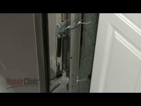 Door Spring - Whirlpool Dishwasher Repair Model #WDF550SAFS