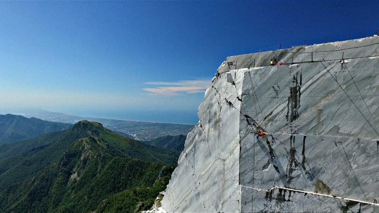 Мрамор мечты Микеланджело добывают в Тоскане (новости)