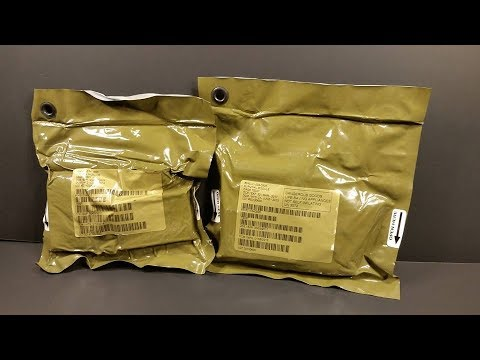2013 USAF Survival Evasion Resistance Escape Pilot Kits Review SERE Medical & General (Not MRE)