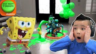 DO NOT TOUCH Nickelodeon Fun Free Game CKN