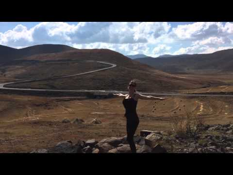 Spinning in Lesotho, Africa