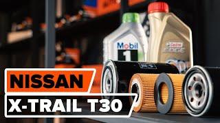 Hvordan bytte motorolje og oljefilter på NISSAN X-TRAIL T30 BRUKSANVISNING | AUTODOC