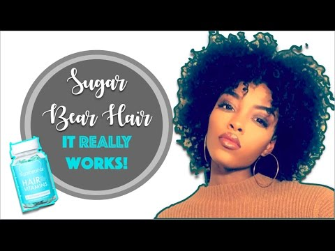 9047e825b4fef Sugar Bear Hair  Does it REALLY work  One Month Update - YouTube