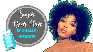Sugar Bear Hair: Does it REALLY work? One Month Update
