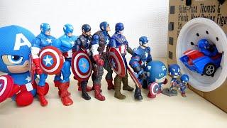 キャプテンアメリカがやってきた 俺たちの盾を探してくれ スポスポ動画