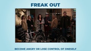 Freak out (long version) - Learn English with phrases from TV series - AsEasyAsPIE