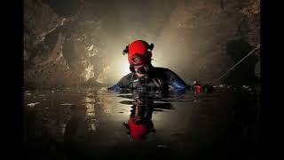 underwater diving ,dangerous and beautiful caves, Tham Luang Nang Non Cave in Thailand,