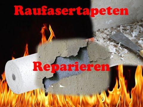 Tapete Reparieren tapete leben reparieren tapezieren - youtube