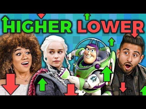 GAME OF THRONES or JESUS?   Higher or Lower Game (Adults React: Gaming)