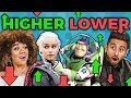 GAME OF THRONES or JESUS? | Higher or Lower Game (Adults React: Gaming)