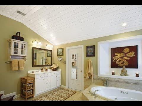 Bathroom Ceiling Lights Design Ideas   Mold Removal Cladding Leaking Fan Installation Tiles DIY 2018
