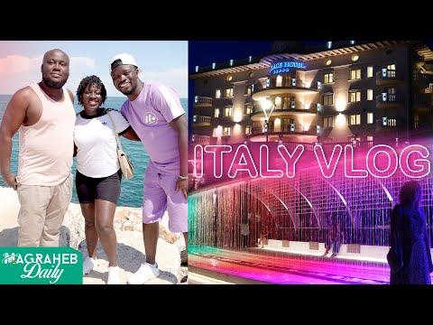 Holiday Vlog at Milano Marritima in Italy + Beautiful Night Life